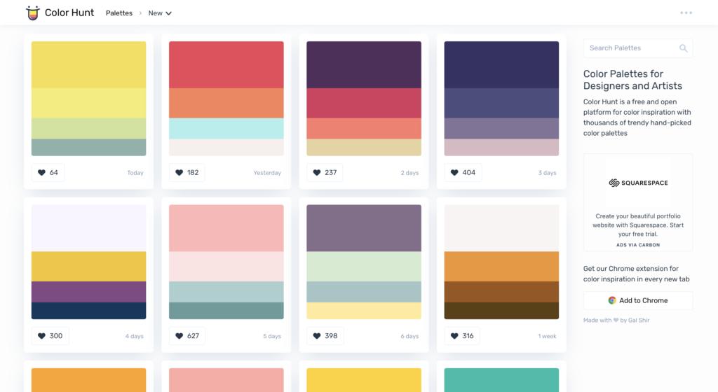 outils palette de couleurs pour améliorer le design de vos powerpoint