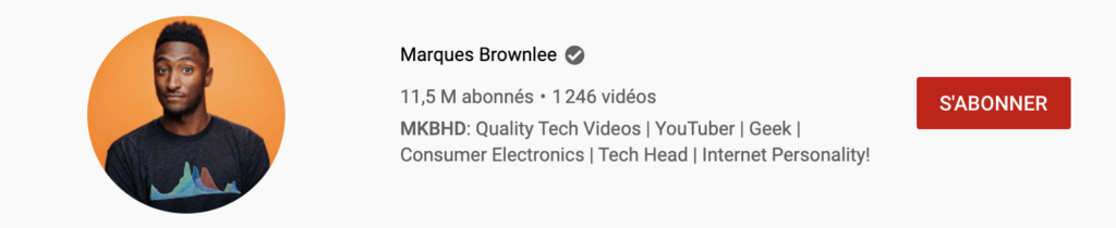 créer une chaîne youtube pp MKBHD