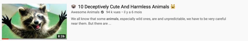 miniature youtube animals
